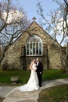 Chapel of Holy Rosary Poughkeepsie Wedding Photo
