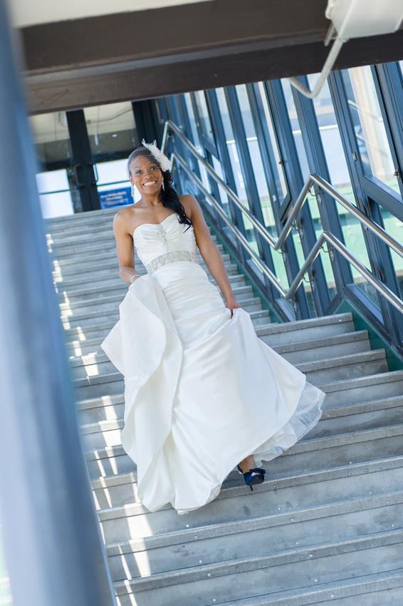 Bride Reveal before Ceremony Wedding Photo