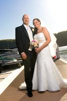 Grandview Marina Wedding Photo