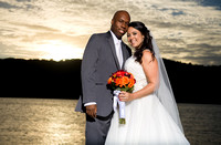 Hudson River Wedding Photo