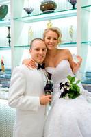 Villa Borghese Wedding Photo