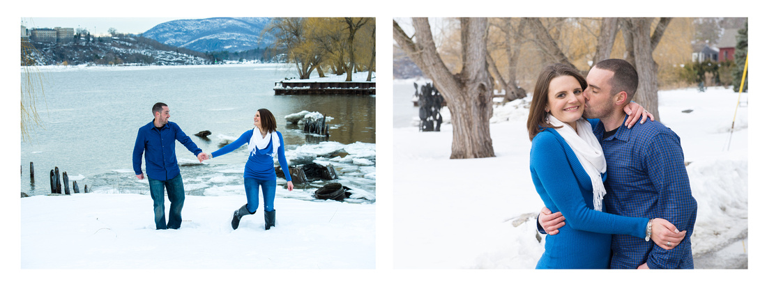 Winter Engagment Portraits - Hudson Valley, NY
