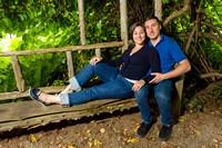 Locust Grove Engagement Photo