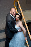 Ritz Carlton Hotel Wedding Photo Bride & Groom