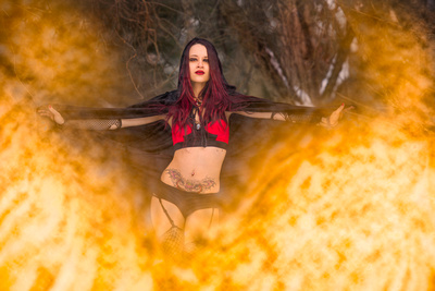 Emily The Sorceress immolation Spell