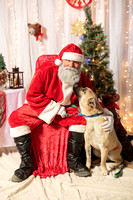 Humane Society of Walden Pictures with Santa 2016