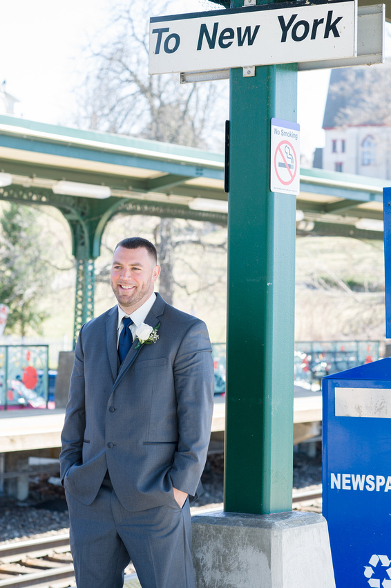 Groom the Reveal Photos before Wedding Ceremony